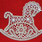 Сувениры и подарки handmade. Livemaster - original item Horse lace.. Handmade.