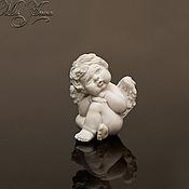Куклы и игрушки ручной работы. Ярмарка Мастеров - ручная работа Микро-ангелочек (2см). Handmade.