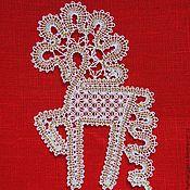 Сувениры и подарки handmade. Livemaster - original item Horse lace. Handmade.