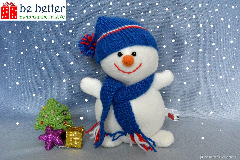 Снеговик, Мягкие игрушки, Белгород,  Фото №1