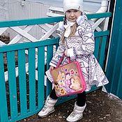 """Пальто ручной работы. Ярмарка Мастеров - ручная работа Пальто для девочки  """"Норвегия"""". Handmade."""
