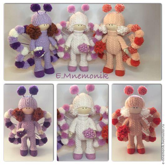 Коллекционные куклы ручной работы. Ярмарка Мастеров - ручная работа. Купить Бабочки. Handmade. Комбинированный, кукла, авторская игрушка