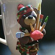 Кружки ручной работы. Ярмарка Мастеров - ручная работа Кружки с декором на заказ. Handmade.