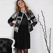 """Одежда ручной работы. Ярмарка Мастеров - ручная работа Авторская Куртка """" Серый жемчуг"""". Handmade."""