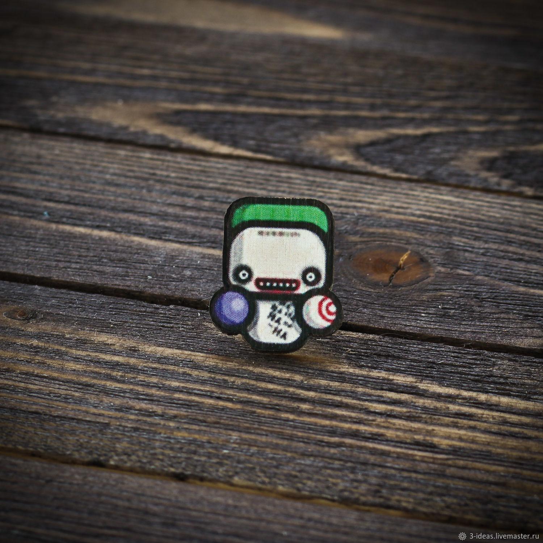 Wooden icon Joker, Badge, Volzhsky,  Фото №1