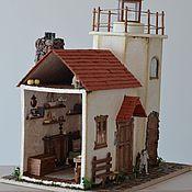 Куклы и игрушки ручной работы. Ярмарка Мастеров - ручная работа Дом у маяка... Handmade.