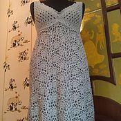 """Одежда ручной работы. Ярмарка Мастеров - ручная работа Коктейльное платье """"Серебряная дымка"""". Handmade."""