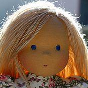 Куклы и игрушки ручной работы. Ярмарка Мастеров - ручная работа Иринка новая, 36см,  вальдорфская кукла. Handmade.
