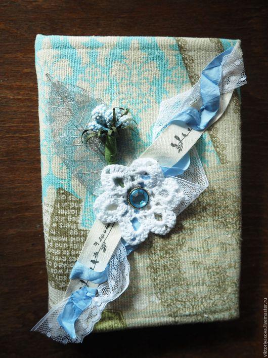"""Блокноты ручной работы. Ярмарка Мастеров - ручная работа. Купить Блокнот """"Кружева и письма"""". Handmade. Комбинированный, подарок себе любимой"""