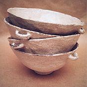 Посуда ручной работы. Ярмарка Мастеров - ручная работа Набор из 3-х керамических пиал ручной работы. Handmade.