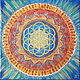 Reproduction of the Mandala Flower of life with manual drawing. Pictures. veronika-suvorova-art. Online shopping on My Livemaster.  Фото №2