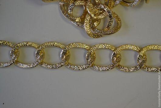 Другие виды рукоделия ручной работы. Ярмарка Мастеров - ручная работа. Купить Цепь крепкая 20/15мм. Handmade. Золотой