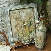 Для дома и интерьера handmade. Livemaster - original item Under the sky of Tuscany (kitchen set). Handmade.