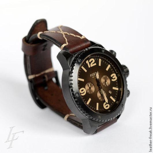 Часы ручной работы. Ярмарка Мастеров - ручная работа. Купить Ремешки для часов под заказ. Handmade. Ремешок для часов
