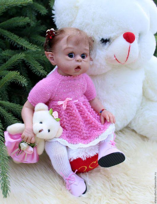 Куклы-младенцы и reborn ручной работы. Ярмарка Мастеров - ручная работа. Купить мини Офелия. Handmade. Комбинированный, синтепон