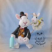 Куклы и игрушки ручной работы. Ярмарка Мастеров - ручная работа Писатель и его Муза ( валяная интерьерная композиция). Handmade.