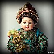 """Куклы и игрушки ручной работы. Ярмарка Мастеров - ручная работа фарфоровая кукла """"Приключения Буратино в Индии"""". Handmade."""