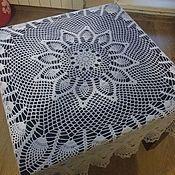 Для дома и интерьера ручной работы. Ярмарка Мастеров - ручная работа Скатерть на круглый стол малая. Handmade.