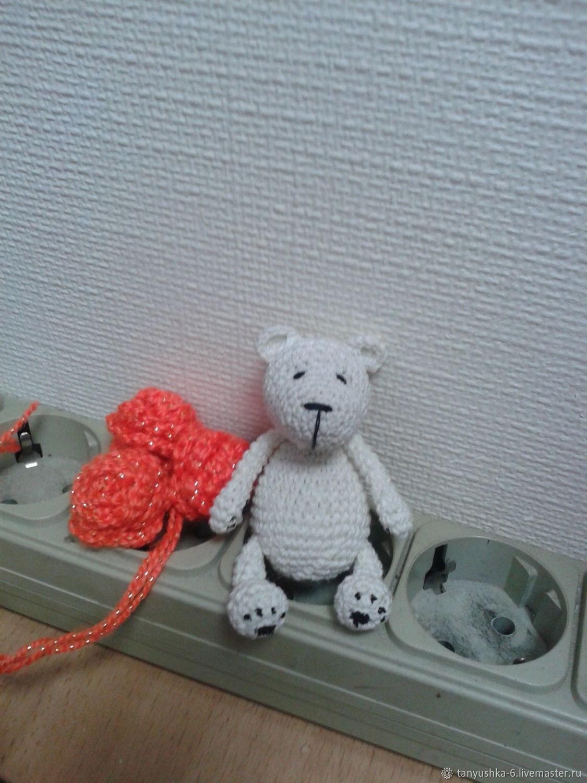 белый медвежонок, Мягкие игрушки, Шушенское,  Фото №1