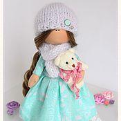 Куклы и игрушки ручной работы. Ярмарка Мастеров - ручная работа Текстильная кукла Leya. Handmade.
