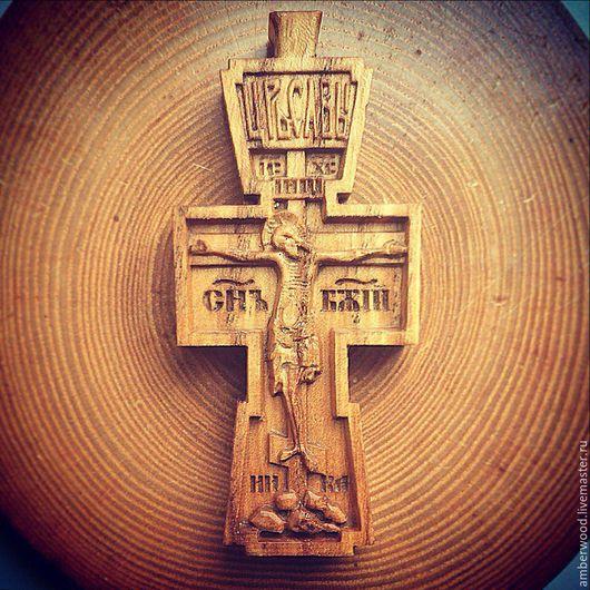 Кулоны, подвески ручной работы. Ярмарка Мастеров - ручная работа. Купить Крест Федора Емельяненко. Handmade. Крест, резьба, mma
