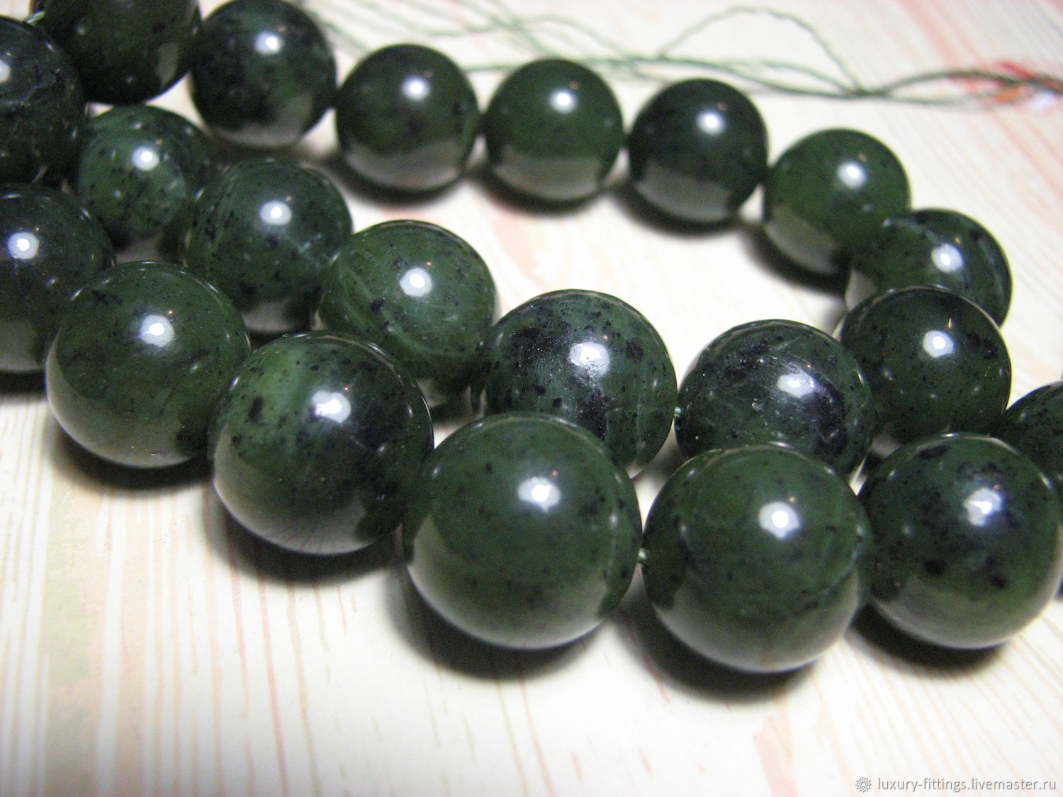 Jasper beads, natural, Baikal 14 mm, Beads1, Moscow,  Фото №1