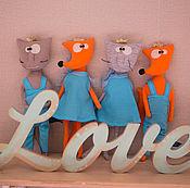 Куклы и игрушки ручной работы. Ярмарка Мастеров - ручная работа Лиса Мелиса. Handmade.