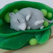 """Косметика ручной работы. Ярмарка Мастеров - ручная работа Мыло """"Мышка в горошке"""". Handmade."""