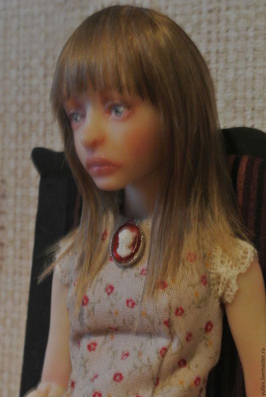 Коллекционные куклы ручной работы. Ярмарка Мастеров - ручная работа. Купить Шарнирная кукла Маша 22 см. Handmade. Бежевый