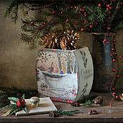 """Для дома и интерьера ручной работы. Ярмарка Мастеров - ручная работа Короб """"FOXWOOD TALES"""".. Handmade."""