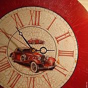 """Для дома и интерьера ручной работы. Ярмарка Мастеров - ручная работа Часы """"Ретро мерседес"""". Handmade."""