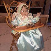 Куклы и игрушки ручной работы. Ярмарка Мастеров - ручная работа Викторианская малышка на стульчике. Handmade.
