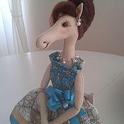 Куклы и игрушки ручной работы. Ярмарка Мастеров - ручная работа Аристократка. Handmade.