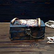handmade. Livemaster - original item Set for creating a pirate chest. Handmade.