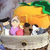 """Куклы и игрушки ручной работы. Ярмарка Мастеров - ручная работа Развивающий мяч-сортер """"Репка"""". Handmade."""