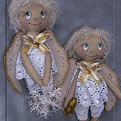 Куклы и игрушки ручной работы. Ярмарка Мастеров - ручная работа Ангелочки рождественские. Handmade.