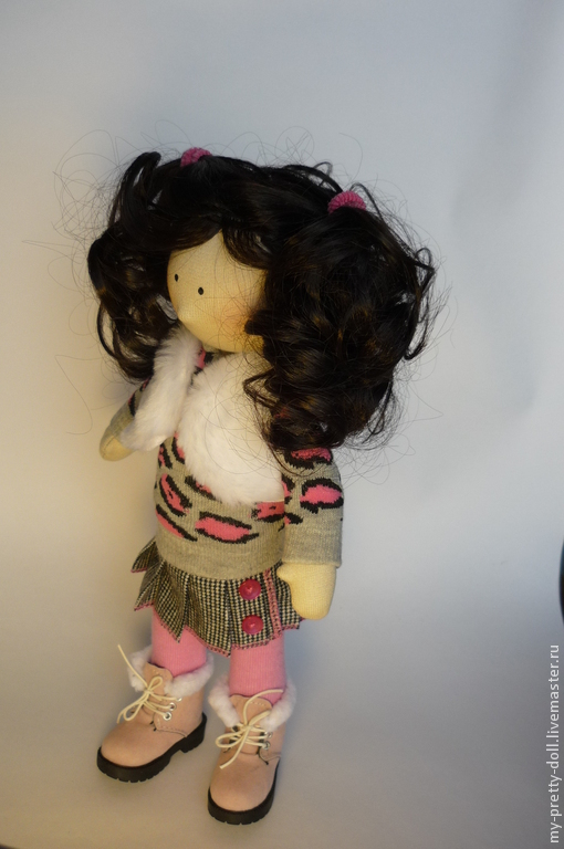 Коллекционные куклы ручной работы. Ярмарка Мастеров - ручная работа. Купить Кукла Снежка девочка Зима 2. Handmade. Снежка