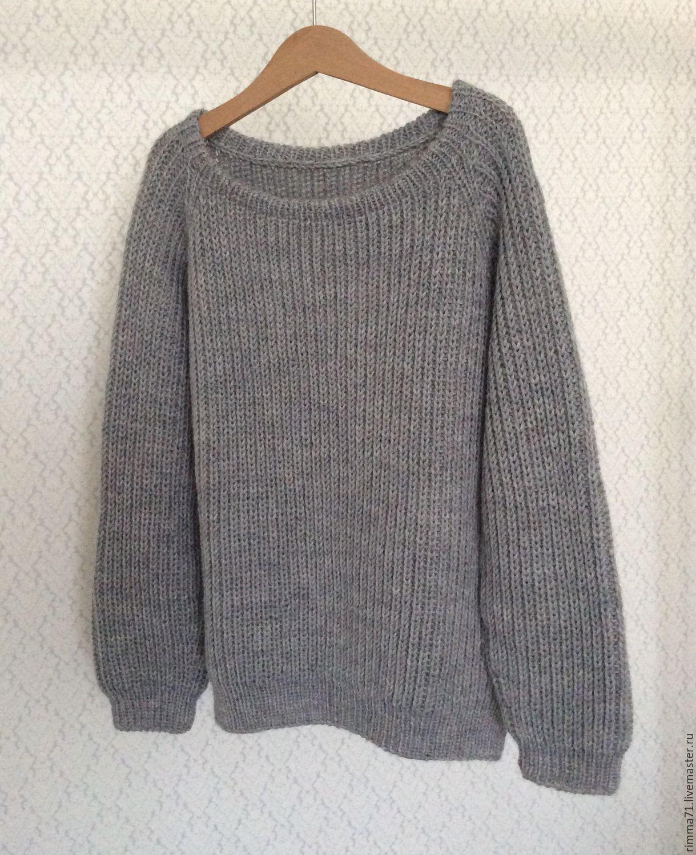 Вязаные женские свитера регланом с доставкой