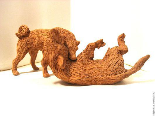 Статуэтки ручной работы. Ярмарка Мастеров - ручная работа. Купить Охота и охотничьи животные. Handmade. Комбинированный, керамика ручной работы