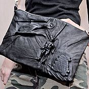 Сумки и аксессуары handmade. Livemaster - original item 3D Bag genuine leather