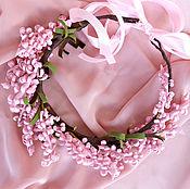 Tiaras handmade. Livemaster - original item A wreath on the head of