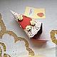 """Открытки на день рождения ручной работы. Заказать Торт с пожеланиями """"Розы и кружево"""". Анна Калинина. Ярмарка Мастеров. Розы, кремовый"""