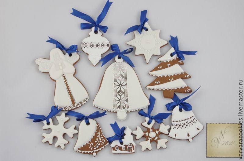 пряники на Рождество, Елочные игрушки, Москва,  Фото №1