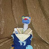 Для дома и интерьера ручной работы. Ярмарка Мастеров - ручная работа Текстильные коробочки. Handmade.