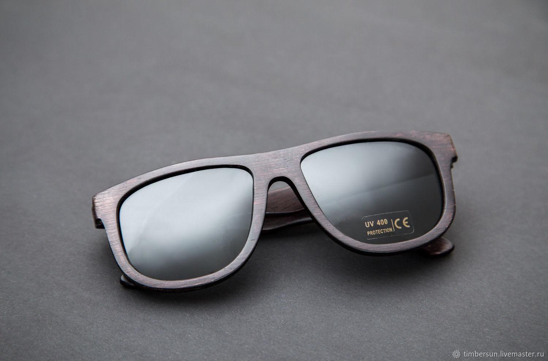 """""""Saturn Dark"""" от Timbersun, деревянные очки ручной работы, Очки, Москва,  Фото №1"""