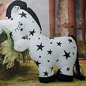 Куклы и игрушки ручной работы. Ярмарка Мастеров - ручная работа Единорог большая мягкая игрушка сплюшка. Handmade.