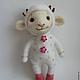 Игрушки животные, ручной работы. Ярмарка Мастеров - ручная работа. Купить Белая овечка символ нового года 2015. Handmade.