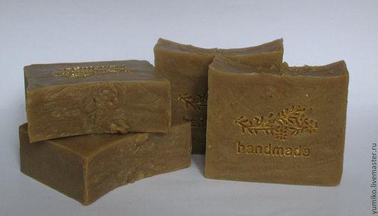"""Мыло ручной работы. Ярмарка Мастеров - ручная работа. Купить Натуральное мыло """"Ним"""". Handmade. Коричневый, лечебное мыло"""