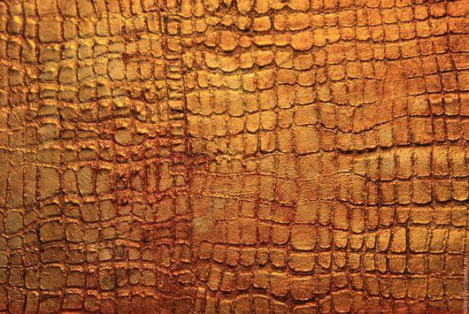 Декор поверхностей ручной работы. Ярмарка Мастеров - ручная работа. Купить Штукатурка с имитацией кожи крокодила Санкт-Петербург для стен, мебели. Handmade.