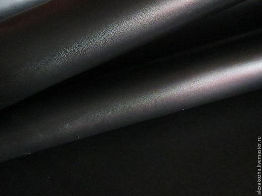 Шитье ручной работы. Ярмарка Мастеров - ручная работа. Купить Юфть шорно-седельная с покр. черная 3,0-3,2. Handmade.